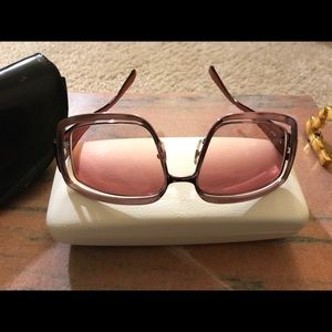 Versace rose frame with lenses in an original case